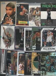 (35) DIFFERENT TIM DUNCAN CARDS SPURS FREE SHIPPING LOT