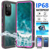 For Samsung Galaxy S9 S10 S20 Plus/Ultra IP68 Waterproof Case Shockproof Cover