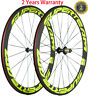 23mm Width Clincher Road Bike Wheelset 50mm Depth Bicycle Wheels 700C 3K/UD Race