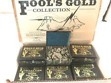 Genuine Iron Pyrite Fools Gold New 2.5 oz Box Free Ship/USA