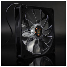 NEW 120mm LED DC 12V 3Pin Noiseless PC Computer Case Cooling Cooler Fan 130 R6Y9