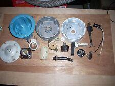 Vintage Lot of Electrical Parts & Supplies Workbox Ceramic Plug Ge Lampholder et