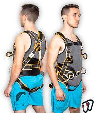 Paragliding, Paraglider, Paramotor, Kiting Ground Handling Harness & Carabiners