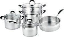 8 Pieces Stainless Steel Cookset