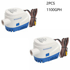 2PCS Automatic Fully Submersible Boat Bilge Water Pump Auto (12V 1100GPH 3.8A) photo