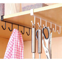 Kitchen Storage Rack Cup Utensils Hanging Hook Hanger Organizer Holder