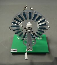 Wimshurst Electrostatic Machine Static Electricity Generator Education Dynamo
