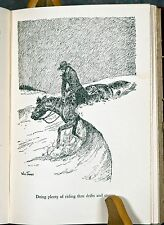 American Cowboy by Will James Collectible First Edition Book w/ 50 Illustrations