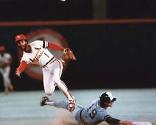 St Louis Cardinals OZZIE SMITH & Brewers Robin Yount Glossy 8x10 Photo Print