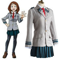 My Boku no Hero Academia School Uniform OCHACO URARAKA (S-XL) Cosplay Costume