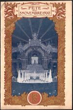 Programme. Exposition Universelle 1900. Représentation de clôture. 3 Novembre