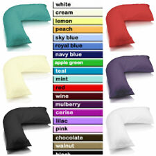 V SHAPED PILLOW CASE COVER - PREGNANCY MATERNITY ORTHOPEDIC SUPPORT NURSING