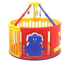 Dream On Me Toddler Play Yard Deluxe Circular Playyard With Jungle Gym