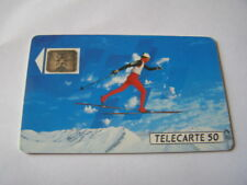 telecarte ski de fond 50u ref phonecote F205