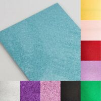 A4 Glitter Card 250gsm Craft Arts Cardstock Low Shed Xmas Card Making Sparkly
