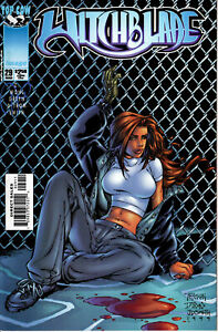 WITCHBLADE #29 RANDY GREEN COVER NM+ IMAGE COMICS