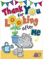 Me To You Bear Thank You For Looking After Me My Dinky Card
