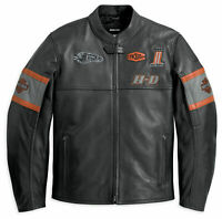 Harley Davidson Screaming Eagle Men's Boys Motorcycle Motorbike Leather Jacket