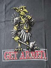 T-Shirt Magic The Gathering,GET ARMED,10th Anniversary,Gr.L,grau,100% Cot,selten