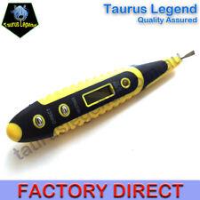 AC/DC Blue LED Digital Voltage Tester Pen Sensor Electric Detecting Screwdriver