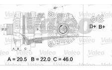 VALEO Alternador CITROEN XSARA BERLINGO PEUGEOT 206 306 VOLKSWAGEN FIAT 437465