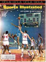 1968 Apr. 1 Sports Illustrated magazine Basketball Lew Alcindor UCLA Bruins ~ VG