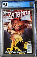 Zatanna #4 Stephanie Roux Cover CGC 9.8 DC Comics 2010