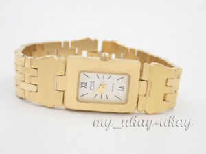 ANNE KLEIN 11/8036  White Dial Gold Tone bracelet ladies Dress Watch