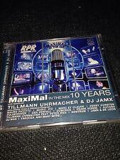 Maximal In The Mix 10 Years Tillmann Uhrmacher & DJ JAMX NEU/OVP NEW 2CD