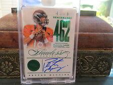Panini Flawless Emerald Benchmarks Autograph Broncos Peyton Manning 3/5 2014