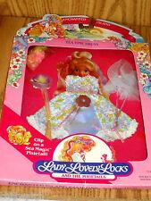 NIP Vintage  Lady Lovely Locks TEA TIME DRESS 5147  MATTEL 1987 NO SHOES