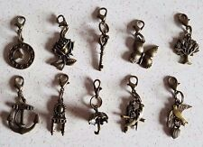 Cute Bronze Clip On Charms 10 Different Designs/Charms To Choose + free gift bag