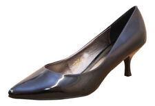 Synthetic Leather Upper Party Kitten Heels for Women