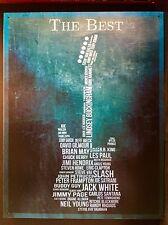 The Best Guitarist TIN SIGN metal Guitar Poster Bar Music Wall Decor