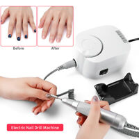 65W Pro Electric Nail File Drill Manicure Tool Pedicure Machine Set Kit Tools