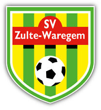 SV Zulte Waregem FC Belgium Soccer Car Bumper Sticker Decal 4'' x 5''