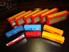 "Six Various Vintage Tyco HO Scale Train Car Set; Ex Cnd, Baby Ruth, Box, Set ""A"""