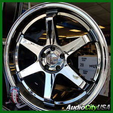 18x9.5 ESR SR07 WHEEL 5-114 et+35 black chrome FIT Civic