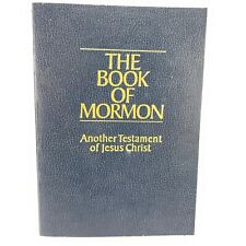 The Book of Mormon Anoother Testament of Jesus Christ Softcover 1981