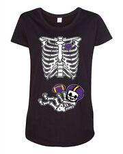 Baby Skeleton Minnesota Football Maternity DT T-Shirt Tee