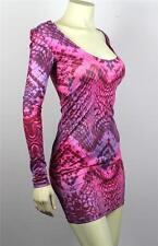 Armani Exchange A|X Snake Print Open Back Bodycon Dress - A5R047XS Sz L
