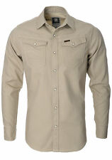 G-Star Cotton Slim Regular Collar Men's Casual Shirts & Tops