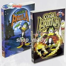 Paquete El Conde Patula Temporada 1 y 2 -  DVD's en Español Latino Región 1 y 4