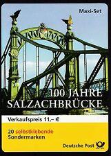 BRD 2003 postfrisch Markenheft MiNr. 52  100 Jahre Salzachbrücke