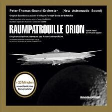Spazio ricognizione Orion Limited Edition mano firmato Peter Thomas CD nuovo Colonna Sonora