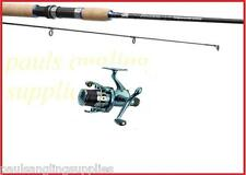 Abu Garcia Carbon Devil Spinning Fishing Rod 9 ft & Shakespeare Omni Reel