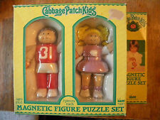 1983 CABBAGE PATCH KIDS MAGNETIC FIGURE PUZZLE SET VINTAGE NEW OLD STOCK TOY