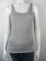 Guess Bluse Bloes W14H01 Top Shirt Seide Neu Grau XS S L