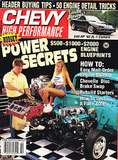 Chevy High Performance  October 1993 - SHIPPED IN A BOX