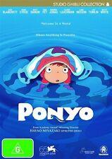Ponyo  (Blu-Ray) Brand New Sealed - Reg B AUS